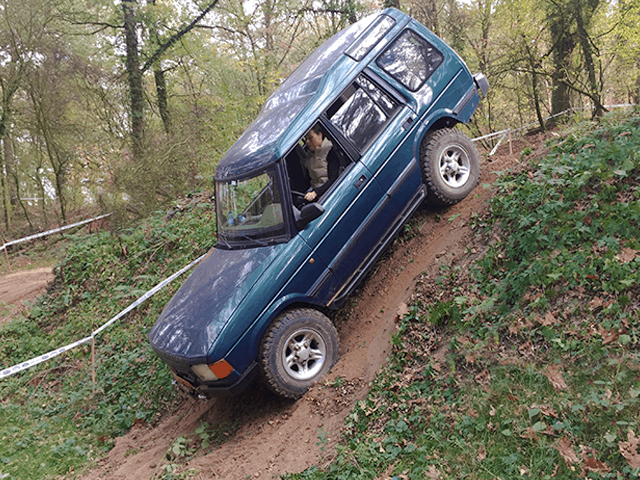 Cursus 4x4 rijden met jeep