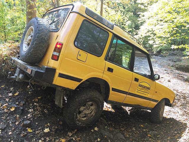 4x4 off road rijden met een Landrover of Jeep