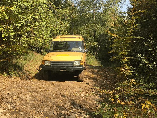 Ervaar 4x4 rijden met landrovers
