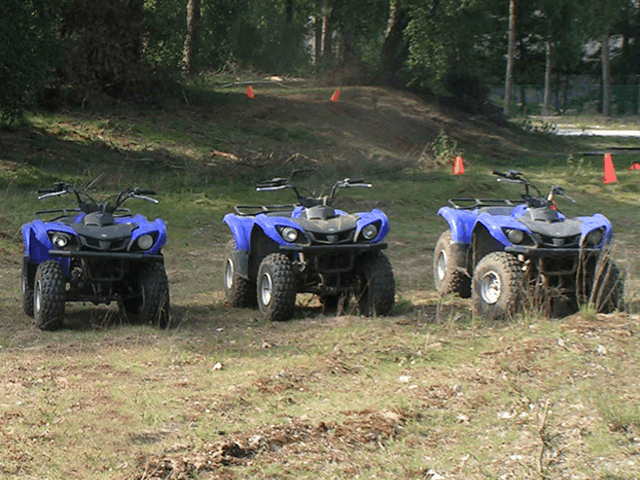 Cursus quad rijden als bedrijfsuitje