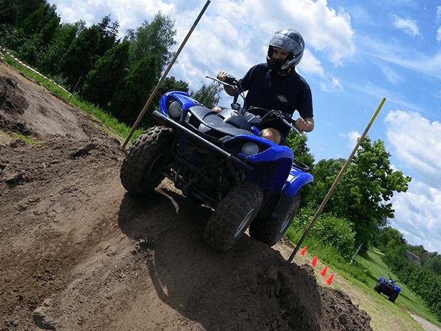 Teambuilding met quad rijden