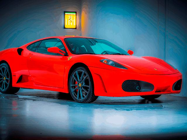 unieke ervaring in een Ferrari